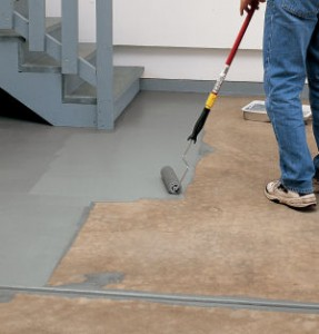 Painting garage floor for Best garage floor cleaner