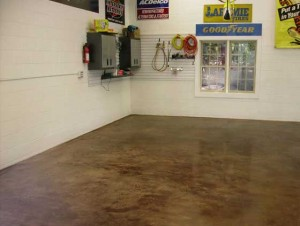 how to fix blotchy floor stain