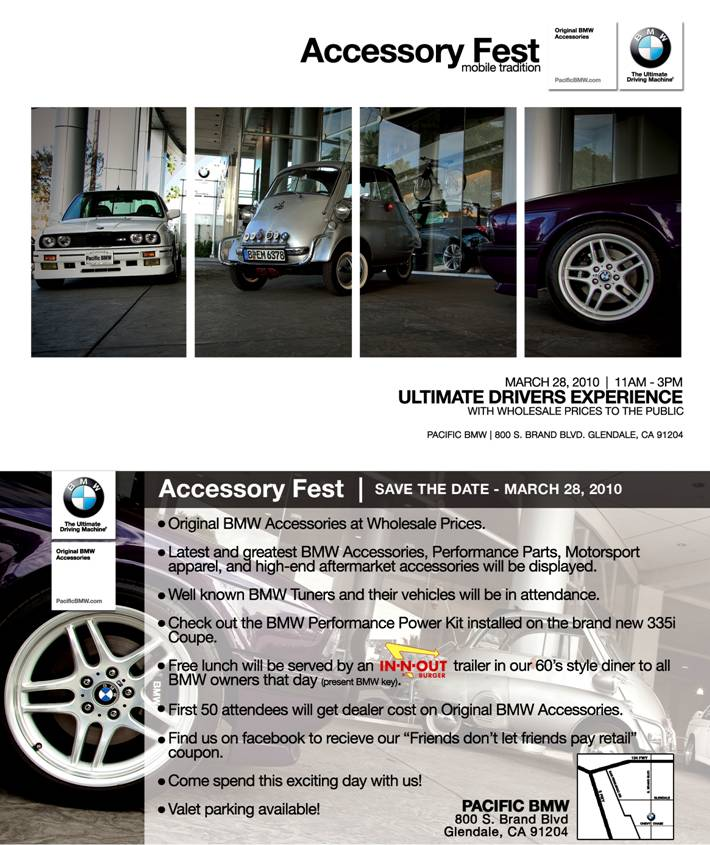 BMW Accessory Festival
