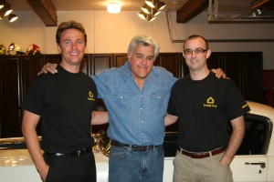 Jay Leno with Garage Envy