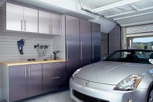 Brushed Aluminum Cabinets