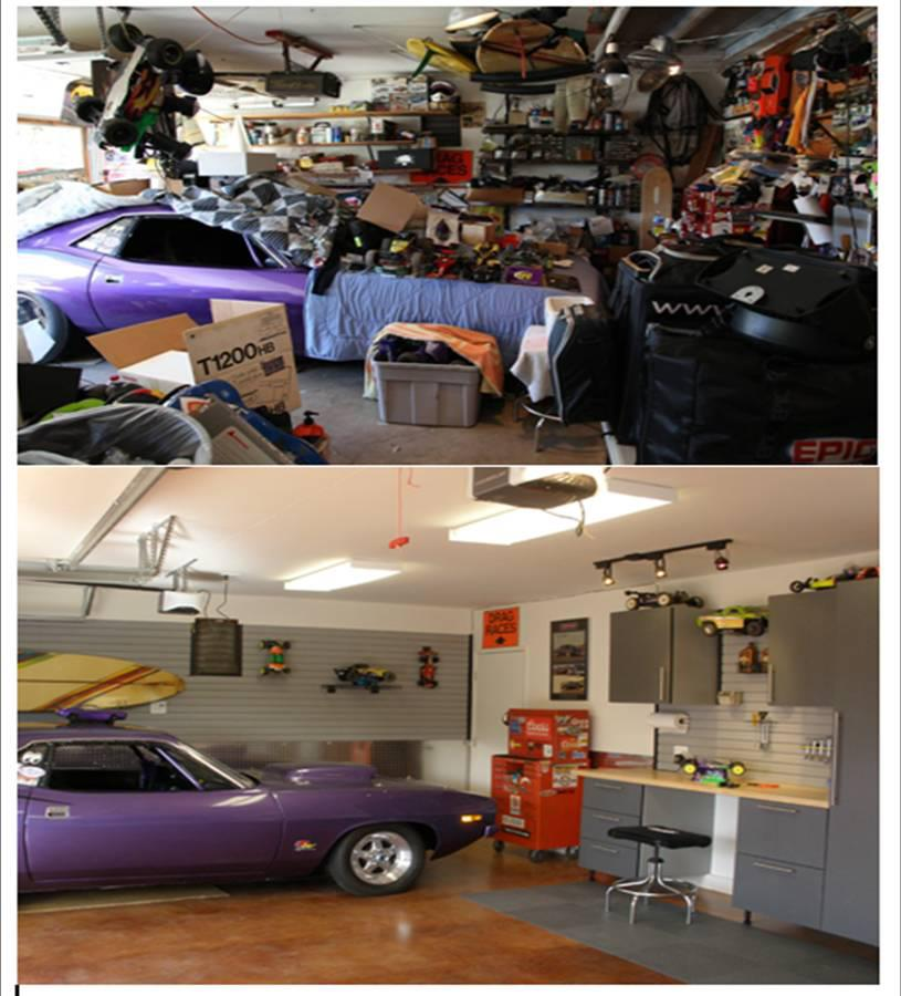 Los Angeles Garage Makeover