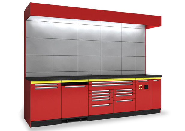 Attrayant Goldberg Commercial Workstations With Modular Tool Storage