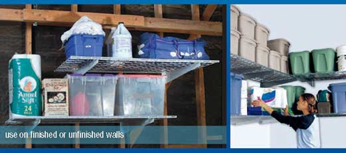 HyLoft  15 x 45 Slatwall Shelf