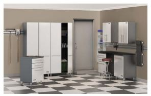 8-Piece Garage Cabinet