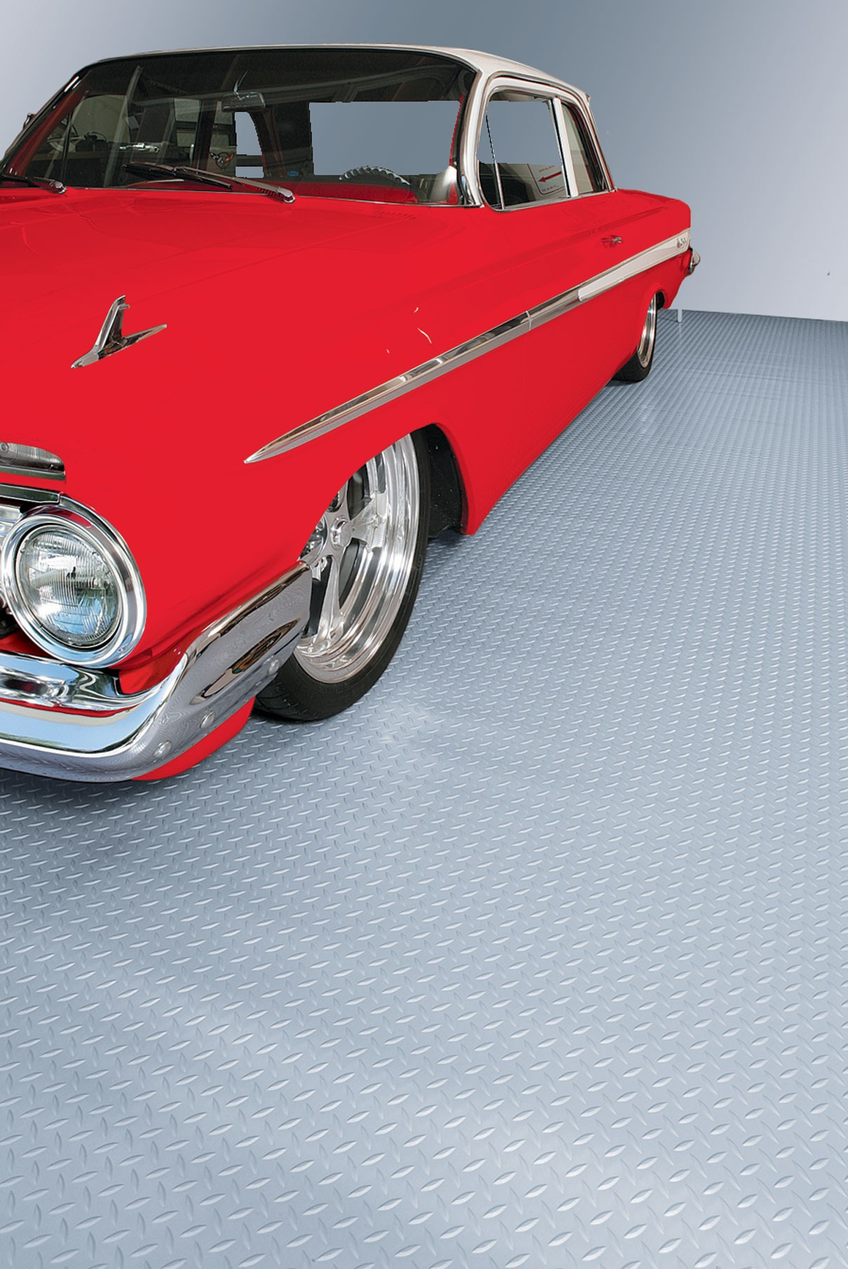 G-Floor Commercial Grade Floor Cover/Protector Diamond Pattern Flooring