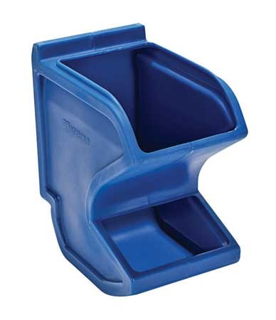 Easy Flow Gravity Hopper Bin - Blue