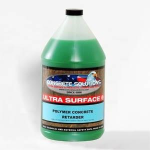 Polymer Concrete Retardor