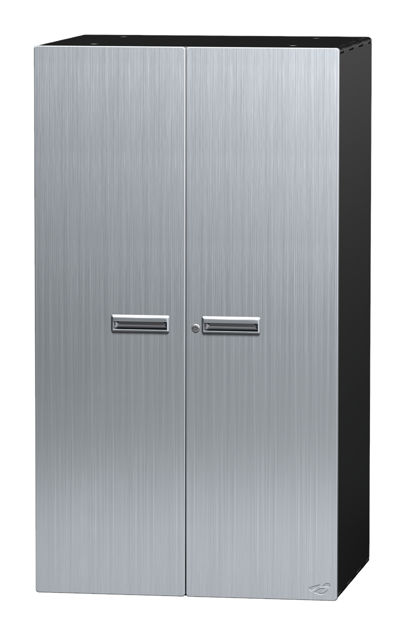 54  Stainless Steel Lower Storage Cabinet  sc 1 st  Garage Envy & 54