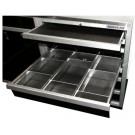 Drawer & Shelf Liners (shown with Aluminum Dividers)