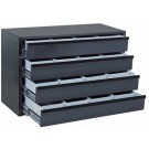 4 Drawer Ball Bearing Slide Cabinet W/ Adj. Insert