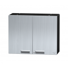 "24"" Stainless Steel Overhead Storage Cabinet"