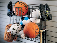 Slatwall Wire Basket Accessories