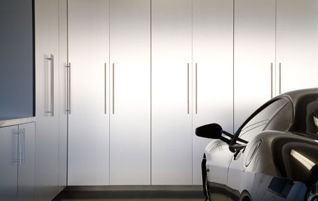 high end garage cabinets