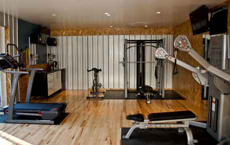 WORKOUT ROOM IDEAS - ROOM DESIGN IDEAS