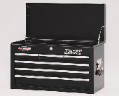 metal tool box black