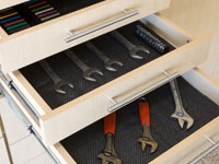 Custom Drawers with tool inserts