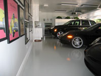 Epoxy Showroom Flooring