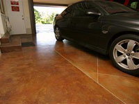 Stained Garage Floor Treatments