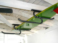 Overhead Ceiling Storage Hooks