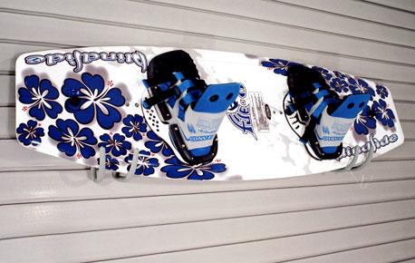 Slatwall Wakeboard Wall Hanger