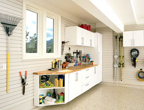 Garage Workbenches And Tool Storage