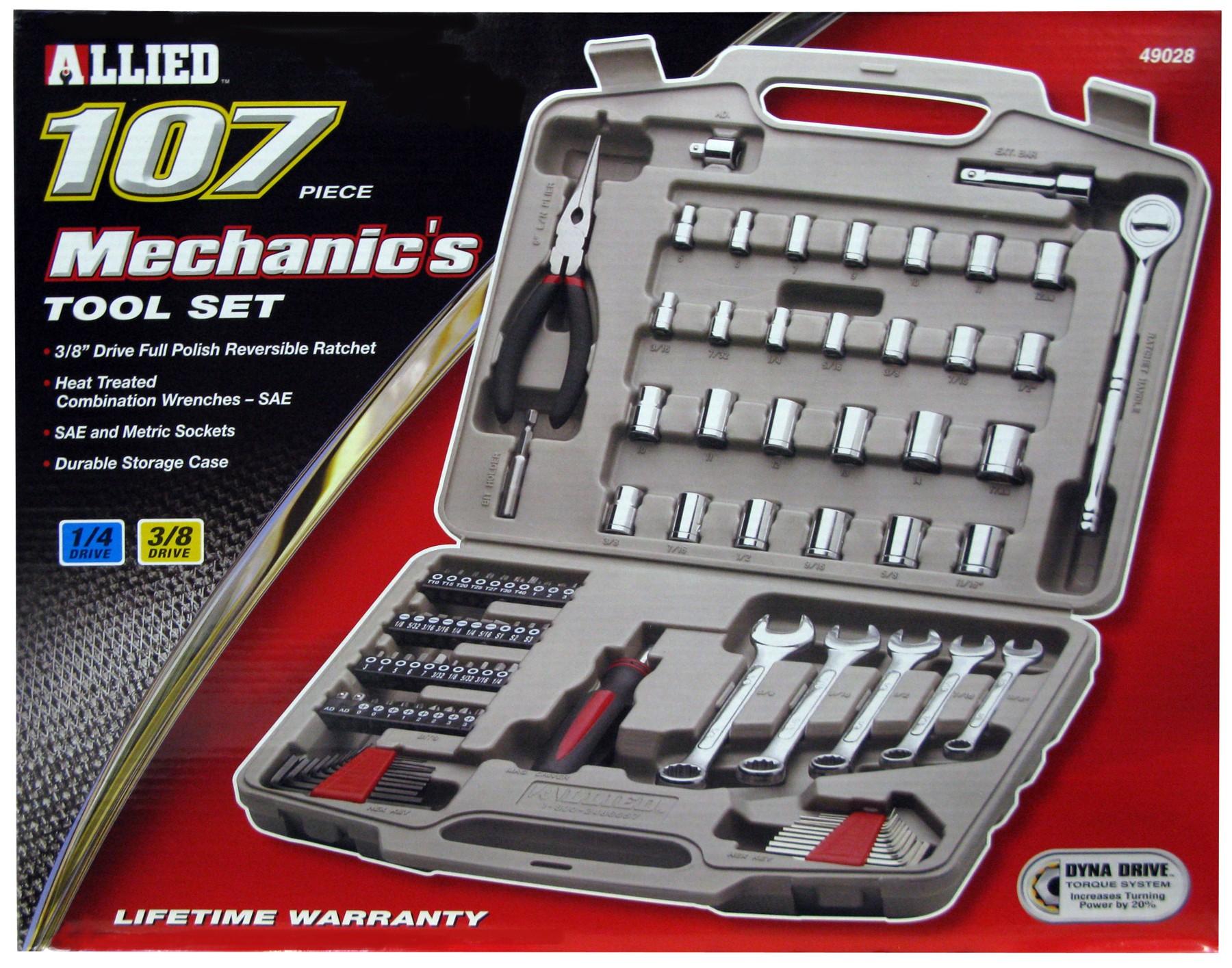 107 Pc. Automotive Tool Set