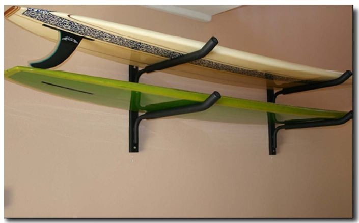 Dabco Wrh Horizontal Wall Racks For Surfboards