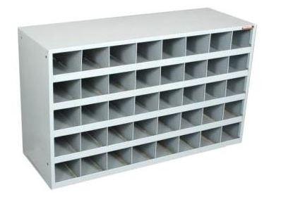 Scoop Front Storage Bin Cabinet