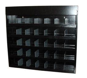 Scoop Front Adjustable Thin Bin Cabinet