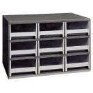 Drawer Steel Parts Storage Hardware and Craft Cabinet with Locking Door