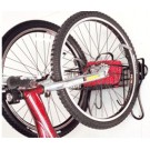 2-Bike Vertical Wall Mount with Basket