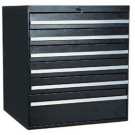 Tall Drawer system with Knob Lock