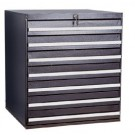 Tall Drawer system with Key Lock