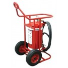 Red Wheeled Clean Agent Fire Estinguisher