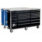 "72"" 18 Drawer Professional Triple Bank Roller Cabinet"